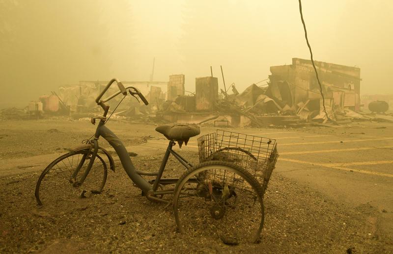US Western Wildfires Oregon Lawsuit