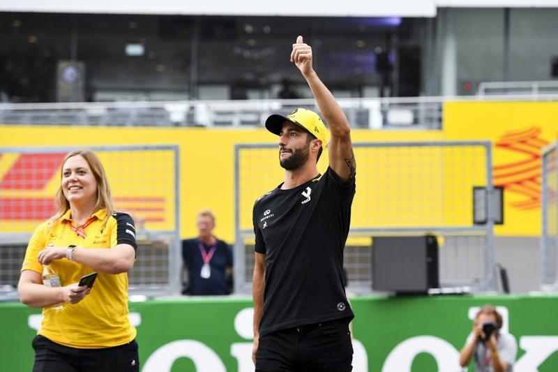 Ricciardo and ex-advisor settle £10m legal dispute