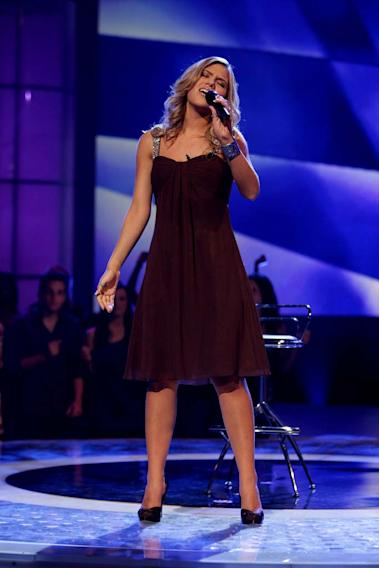 Kady Malloy performs as one of the top 24 contestants on the 7th season of American Idol.