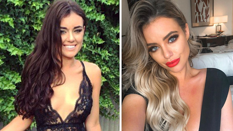 The Bachelor's Monique Morley in 2015 (L) and now (R). Photo: Instagram/moniquemorley