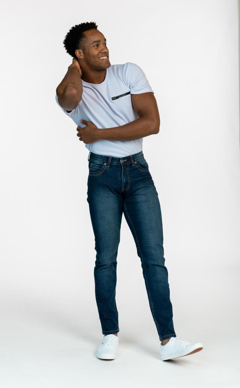 Men's Skinny Fit Morii Jeans (Photo via Gilles Thibault)