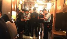 兩食肆酒吧違防疫限制 87酒客遭票控
