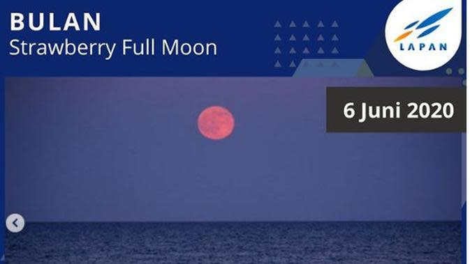 6 Juni: Strawberry Full Moon. (Istockphoto)