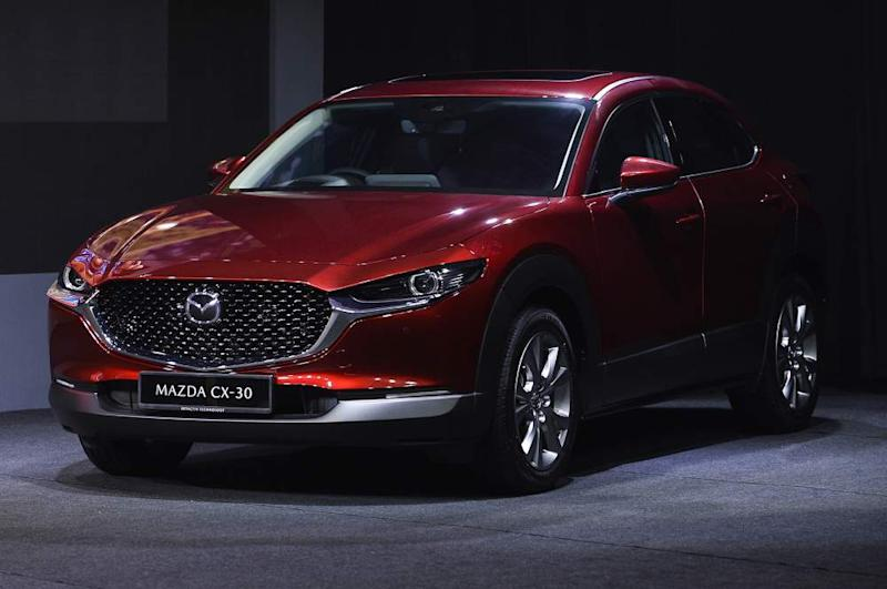 The CX-30 is part of the new generation of Mazda vehicles that will include a number of new safety features. ― Picture by Miera Zulyana