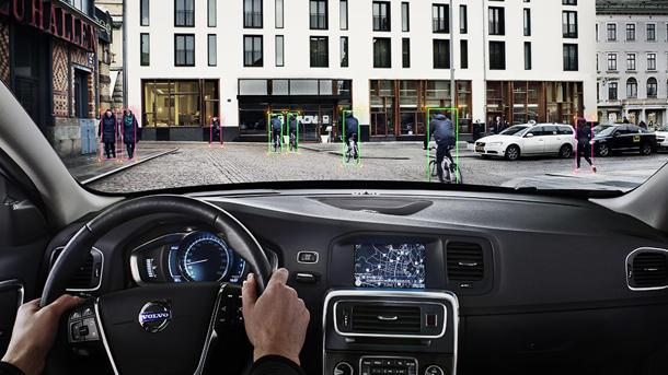 Volvo designs world's first cyclist-saving automatic brakes