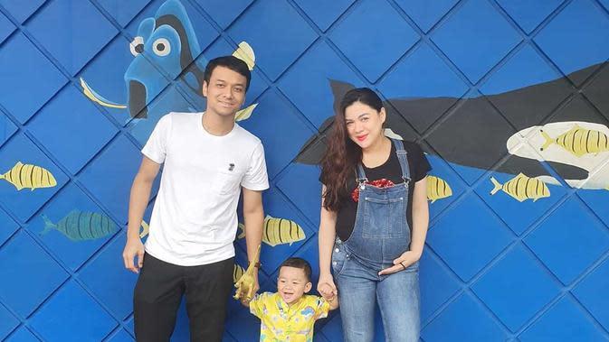 Vicky Shu masih tetap beraktivitas menjelang persalinan (Instagram/vickyshu)