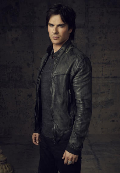 Damon Salvatore (Ian Somerhalder) on Vampire Diaries