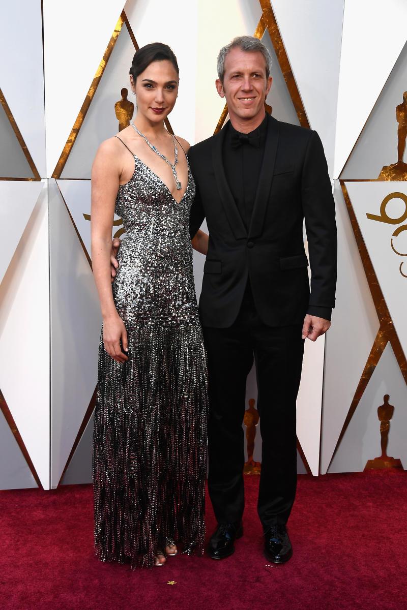 Gadot and husband Yaron Varsano. Image via Getty Images/Frazer Harrison).