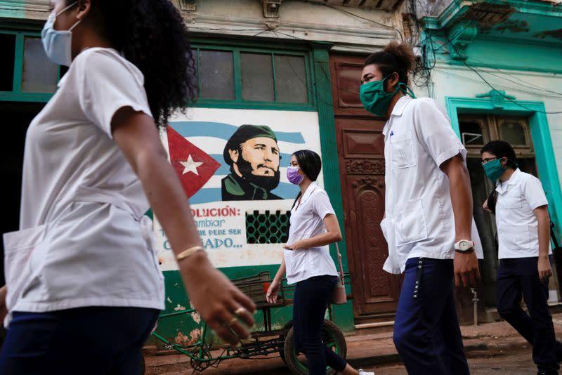 The coronavirus disease (COVID-19) outbreak in Havana