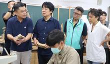 賴清德參訪玉東國中木工班 (圖)