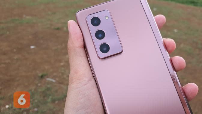 Kamera utama Galaxy Z Fold 2 (Liputan6.com/ Agustin Setyo W)