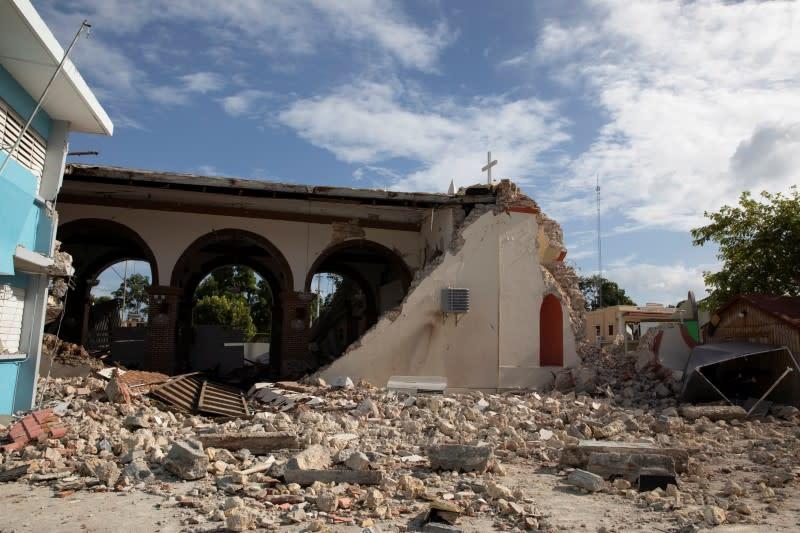 Trump declares Puerto Rico quake disaster, ties strings to relief