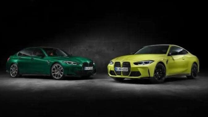 Ini Penampakan Asli Generasi Terbaru BMW M3 dan M4