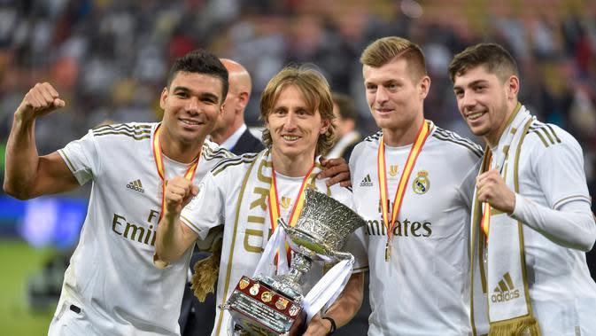 15 Olok-olokan untuk Barcelona dan Ernesto Valverde Setelah Real Madrid Juara Piala Super Spanyol