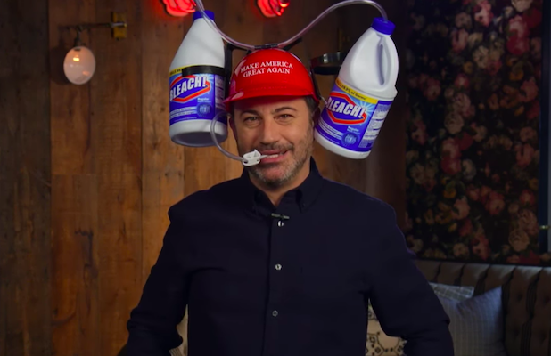 Jimmy Kimmel Has 'MAGA-nificient' Idea for GOP Convention Merch Amid Pandemic (Video)