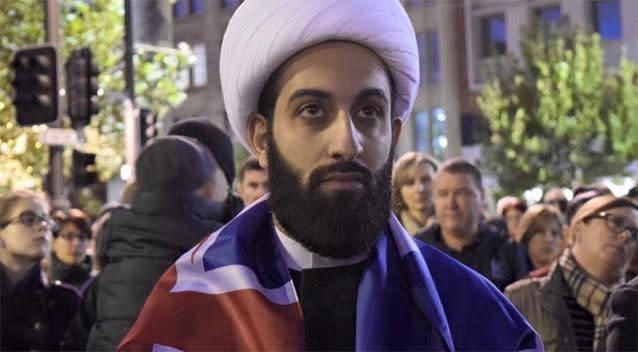 Sheikh Tawhidi said he agrees with Pauline Hanson. Source: Facebook