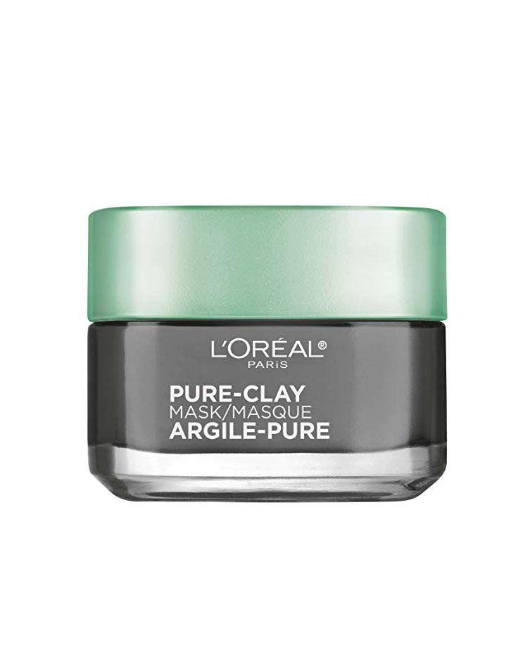 """<p><strong>L'Oreal Paris</strong></p><p>amazon.com</p><p><strong>$9.61</strong></p><p><a href=""""https://www.amazon.com/dp/B01F7SUFW2?tag=syn-yahoo-20&ascsubtag=%5Bartid%7C10072.g.26536896%5Bsrc%7Cyahoo-us"""" target=""""_blank"""">Shop Now</a></p><p>Working to both detoxify and brighten skin, this uber-creamy mask won't dry out complexions and works to provide an extra dose of hydration. """"It's outstanding for people living in high pollution zones,"""" says Dr. Ava Shamban, Board-Certified Dermatologist and <a href=""""https://skinfive.com/"""" target=""""_blank"""">Founder of Skin Five by Ava MD</a>. </p>"""