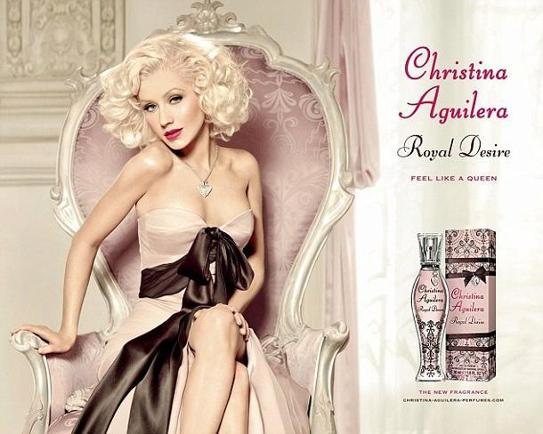 Does Christina Aguilera's Fragrance Ad Whittle Her Down?