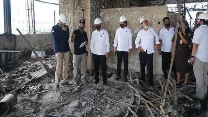 Terungkap, Kebakaran Gedung Kejagung Bukan karena Korsleting Listrik
