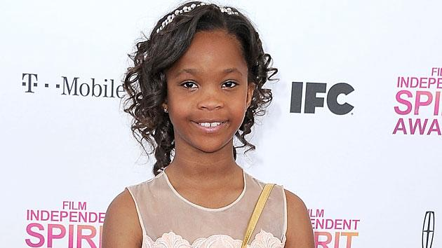 Oscar nominee Quvenzhane Wallis heads for Easy Street as the star of 'Annie'