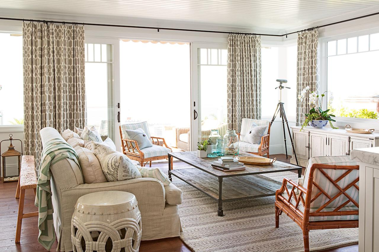 """<p>Window treatments might be the last thing you think about when <a href=""""https://www.goodhousekeeping.com/home/decorating-ideas/g30433830/spring-decorating-ideas/"""" target=""""_blank"""">designing your space</a>, but they're the finishing touch that every room needs. When it comes to curtains for <a href=""""https://www.goodhousekeeping.com/home/decorating-ideas/g1500/decor-ideas-living-room/"""" target=""""_blank"""">living rooms</a>, the options are endless. Browse through 20 of our favorite living room curtain ideas for all design styles.  </p>"""