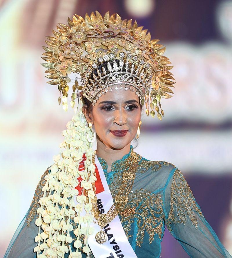 Subhashini Rama Linggam is set to represent Malaysia at the Mrs Global Universe 2020 world finale next year. — Picture courtesy of Lumiere International