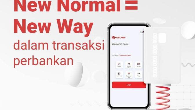 New Nomal = New Way dalam transaksi perbankan.