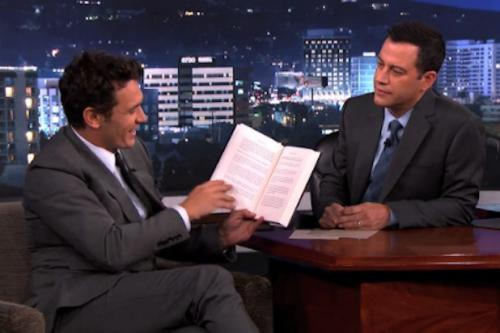 James Franco Tries – and Fails – to Properly Explain His New Novel to Jimmy Kimmel (Video)