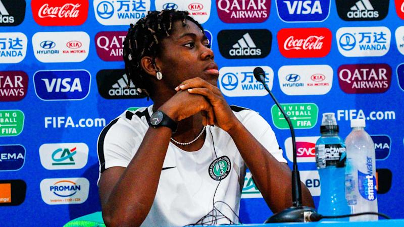 Asisat Oshoala: Nigeria were afraid of early exit in Women's World Cup