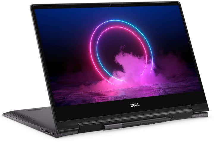 Dell Inspiron 13 7000 2-in-1 4K Laptop (white background)