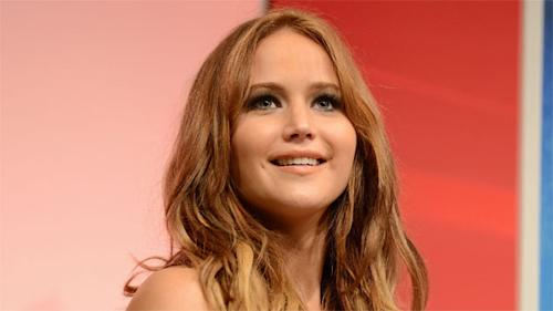 Jennifer Lawrence charms at the Santa Barbara International Film Festival