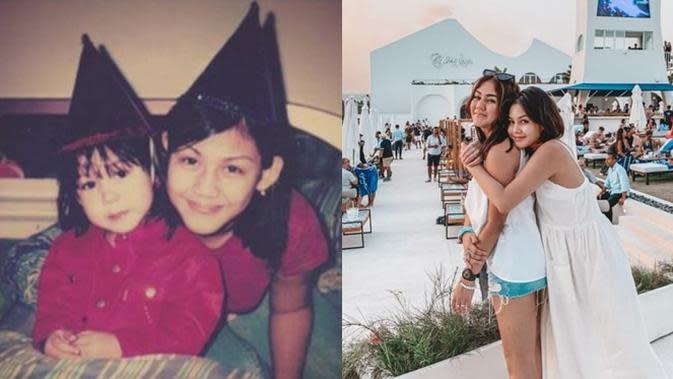 6 Potret Transformasi Adik Kakak Seleb saat Kecil Vs Kini, Kompak Sedari Dulu (sumber: Instagram.com/vaneshaass)