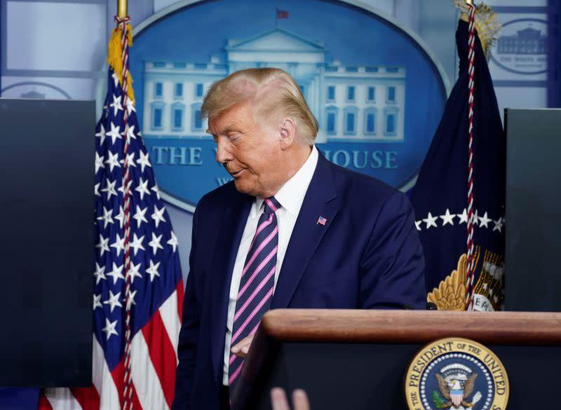 Trump says U.S. dealing well with 'tough,' 'smart' Taliban