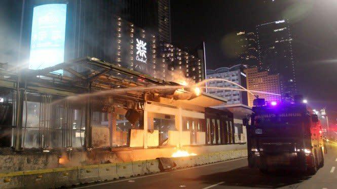 Dirut Transjakarta: Halte yang Hangus Terbakar Perlu Perbaikan 2 Bulan