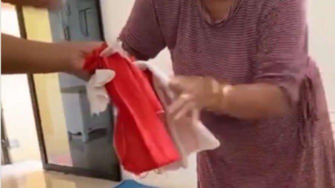 Polisi Tangkap Penggunting-gunting Bendera Merah Putih di Sumedang