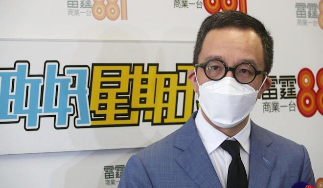 Professor Gabriel Leung, dean of University of Hong Kong's medical school, says the number of people expected to be infected by each virus patient has increased to four at present. Photo: Edmond So