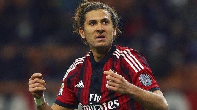 Penyerang AC Milan, Alessio Cerci