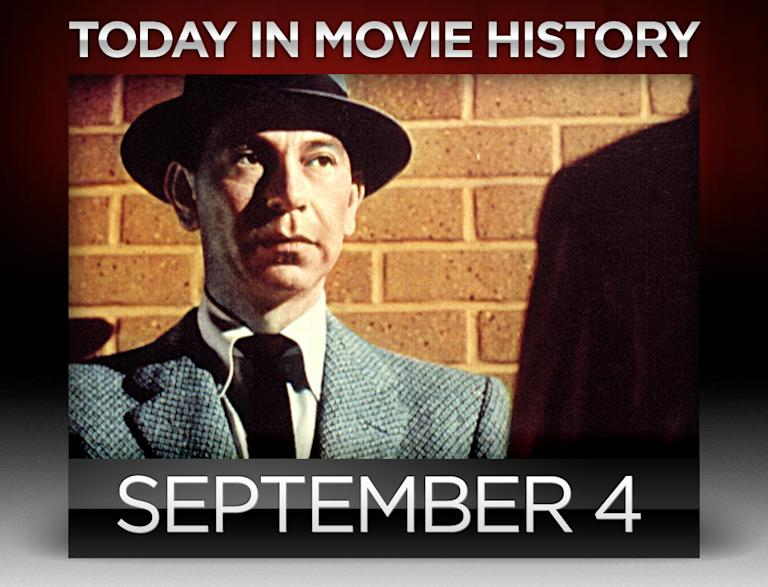 today in movie history, September 4