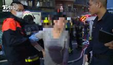 驚險!視障婦打翻精油燈 床起火「鄰居急救」