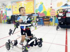 幫助身障寶貝跑出人生路