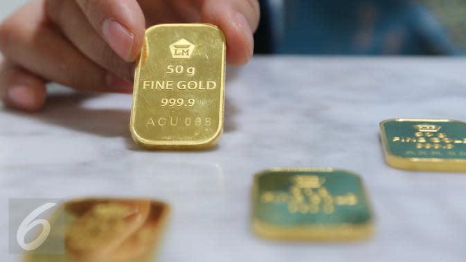 Harga emas. (Liputan6.com/Angga Yuniar)
