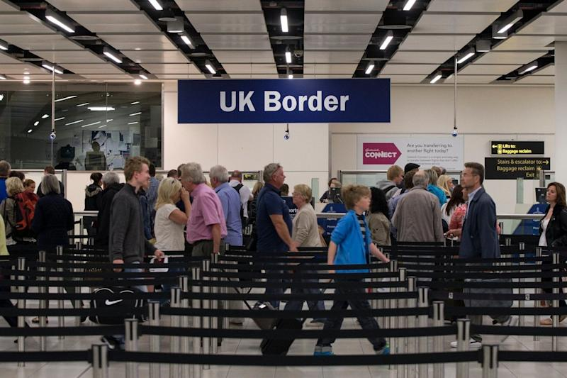 The Government's post-Brexit changes to UK immigration rules have come under fire (Getty Images)