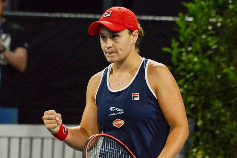 Ashleigh Barty took a while to get going against 27th-ranked American Collins who dominated the opening set but the Australian secured her win