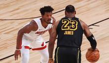 NBA》熱火6人得分上雙險勝 湖人黑曼巴球衣不敗奪冠夢破功
