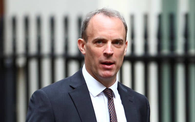 Britain and Japan 'stand side by side' on Hong Kong - Raab