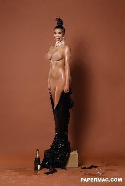Kim Kardashian West Paper Magazine