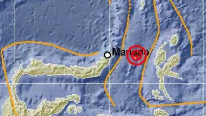 Maluku Utara Diguncang Gempa 7.1 Skala Richter