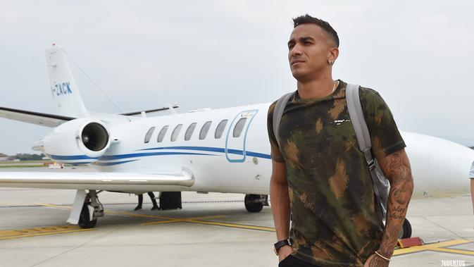 Danilo tiba di Turin (dok Juventus)