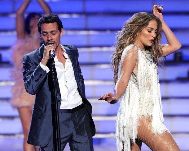 November 14 – 20: Former Couple Jennifer Lopez And Marc Anthony Performing Separate AMAs Sets
