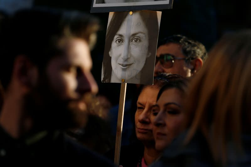 Malta journalist murder suspect accused former PM's chief of staff - police